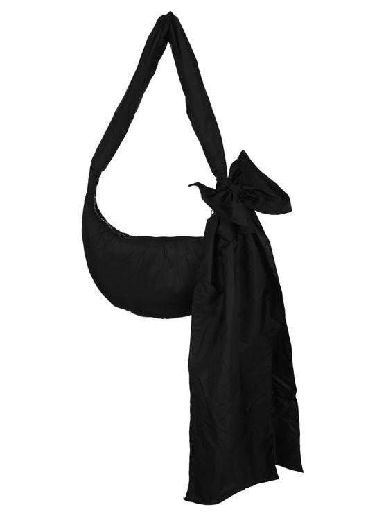 Red Valentino Nylon Hobo Bag In Black
