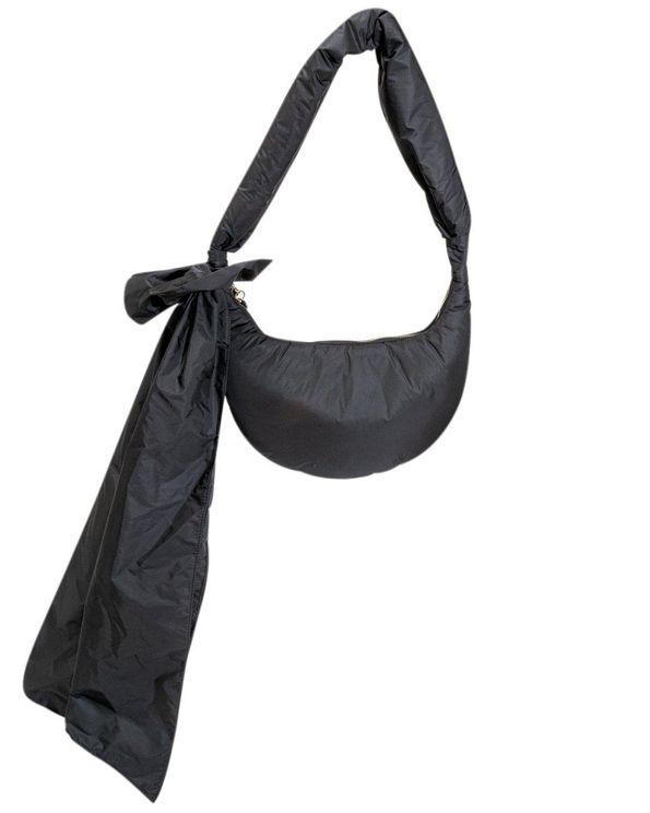Red Valentino Black Hobo Shoulder Bag
