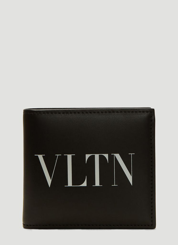 Valentino Garavani Valentino Vltn Bifold Wallet In Black