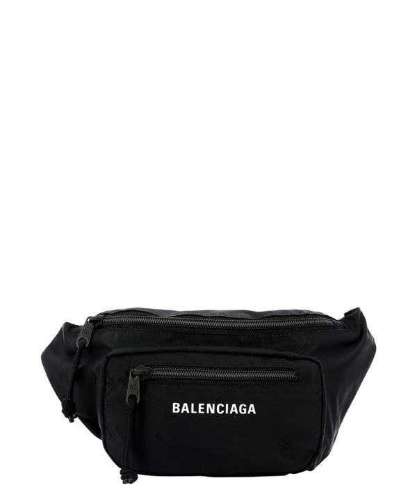 "Balenciaga ""expandable"" Belt Bag In Black"