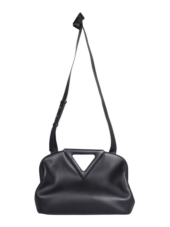Bottega Veneta Medium Point Bag In Black