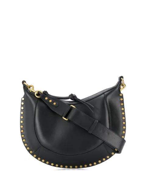 Isabel Marant Naoko Shoulder Bag In Black