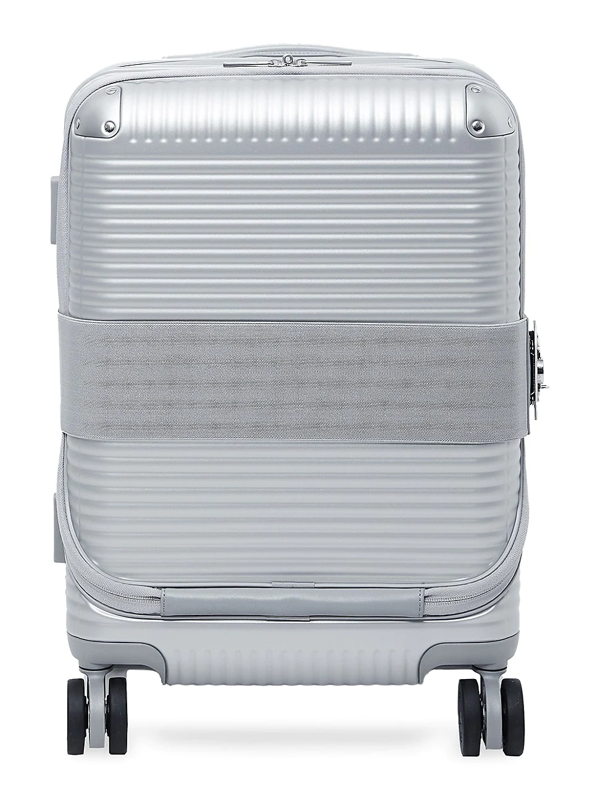 Fpm 53 Bank Zip Spinner Carry-on Suitcase In Glacier Grey