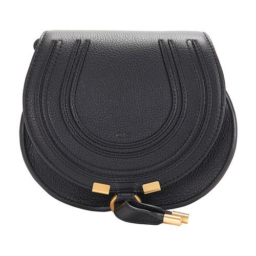 Chloé Marcie Small Satchel Bag In Black