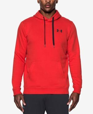 Under Armour Men's Rival Hoodie In Red