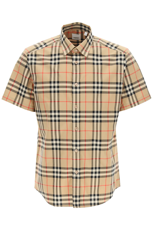 Burberry Caxton Shirt Vintage Check In Mixed Colours