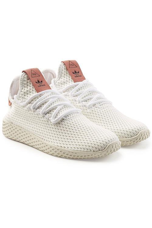 Adidas Originals Originals X Pharrell Williams Mesh Sneaker In White