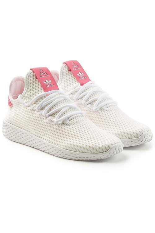 54930d4de4324 Adidas Originals Pharrell Williams Tennis Hu Sneakers In White ...