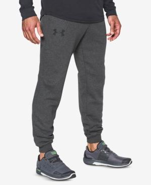 Under Armour Men's Rival Joggers In Carbon Heather