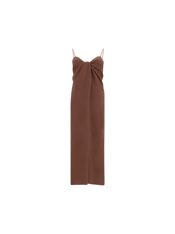 Valentino Women's Vb0vavh56b5514 Brown Other Materials Dress