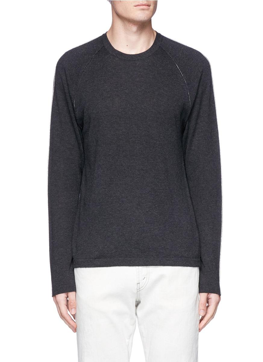 James Perse Contrast Stitch Sweater