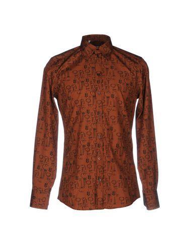 Dolce & Gabbana Shirts In Brick Red