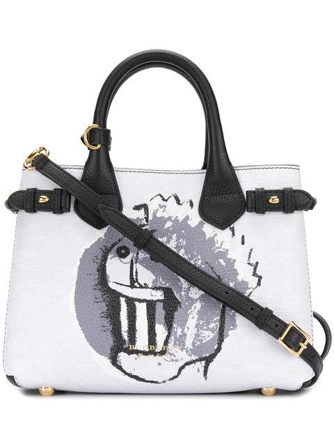 Burberry The Banner Topprinted Tote