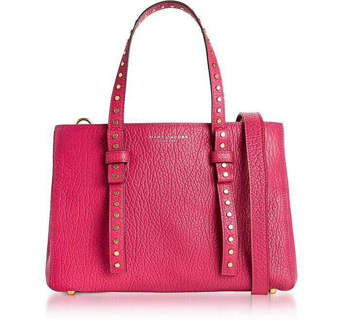 Marc Jacobs Hibiscus Leather Mini T Studded Tote