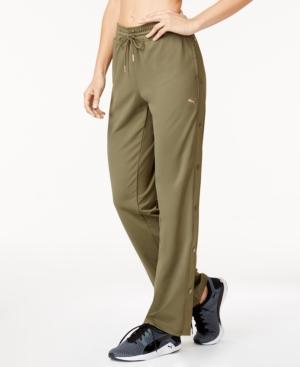 Puma Explosive Drycell Tear-away Pants In Olive Night