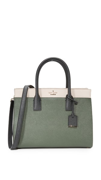 Kate Spade Cameron Street Candace Satchel In Evergreen