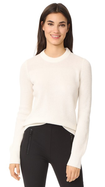 Rag & Bone Ace Cashmere Sweater In Ivory