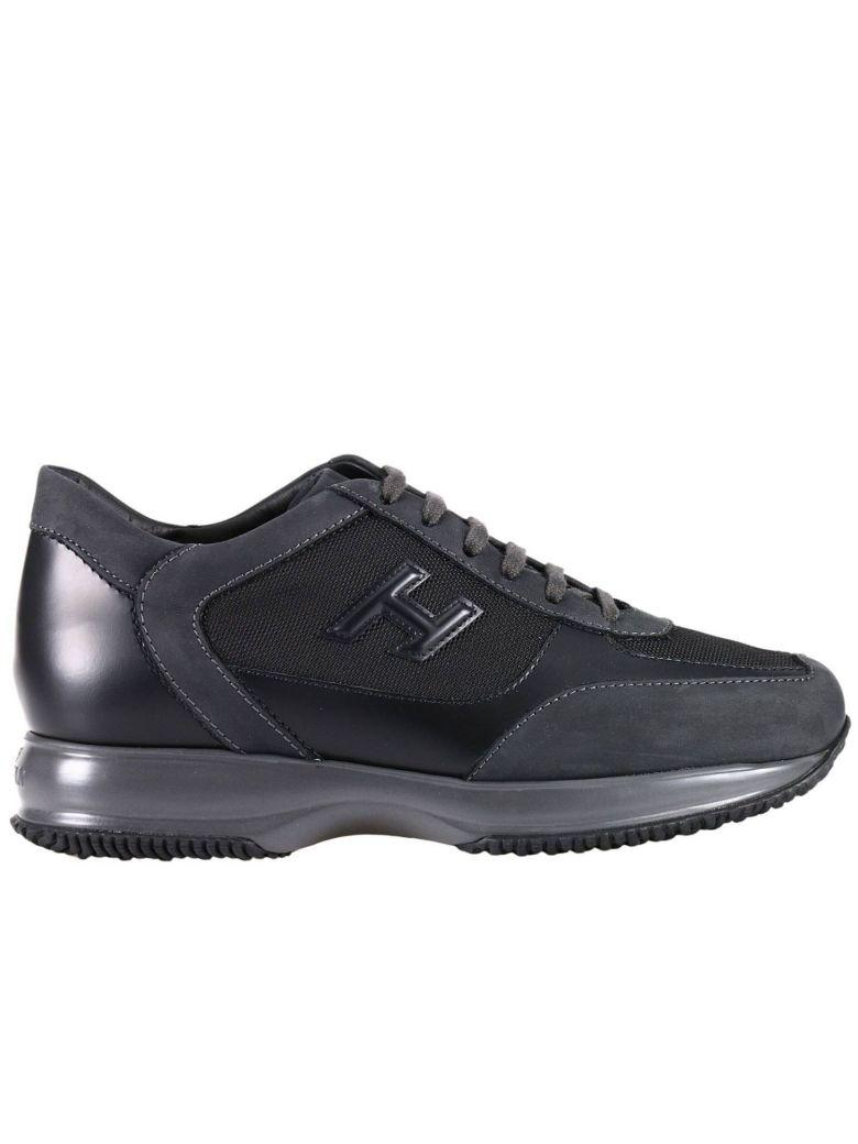 Hogan Sneakers Shoes Men  In Black