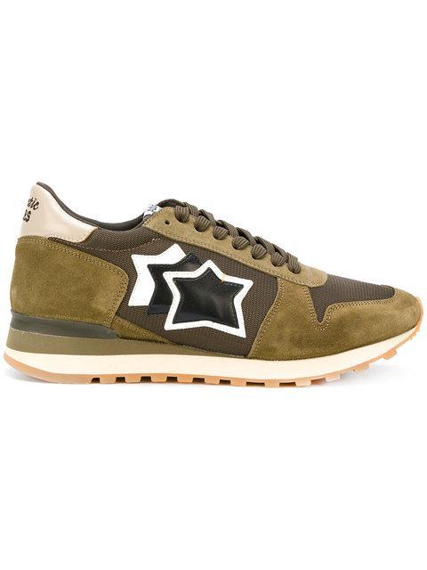 Atlantic Stars Argo Sneakers In Green