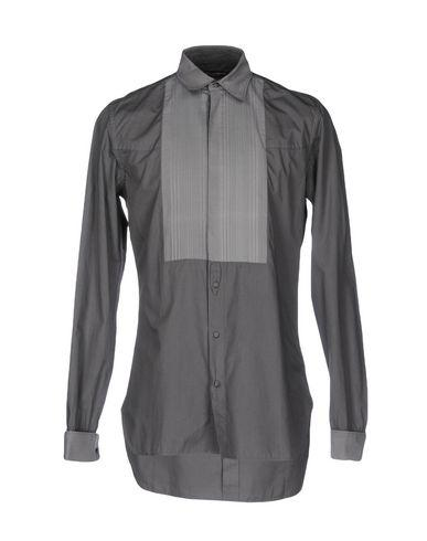 Dolce & Gabbana Patterned Shirt In Grey
