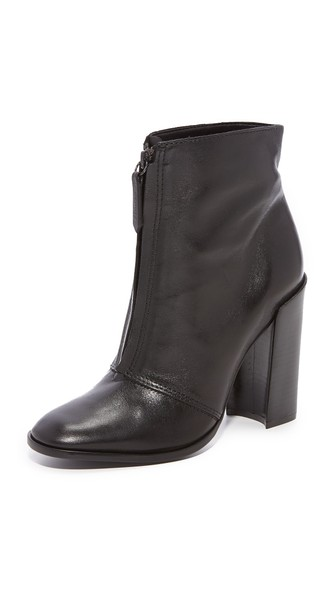 Schutz Pepper Ankle Booties In Black