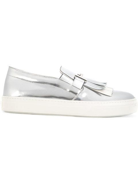 Tod's Double T Slip-on Sneakers