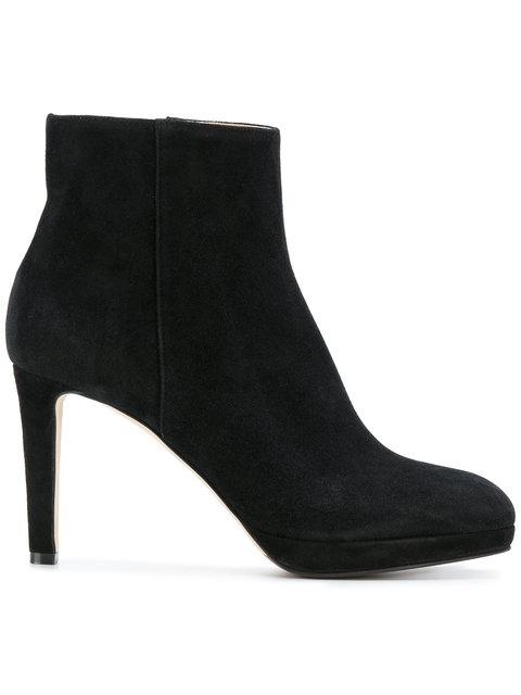 Sergio Rossi Heeled Ankle Boots In Black