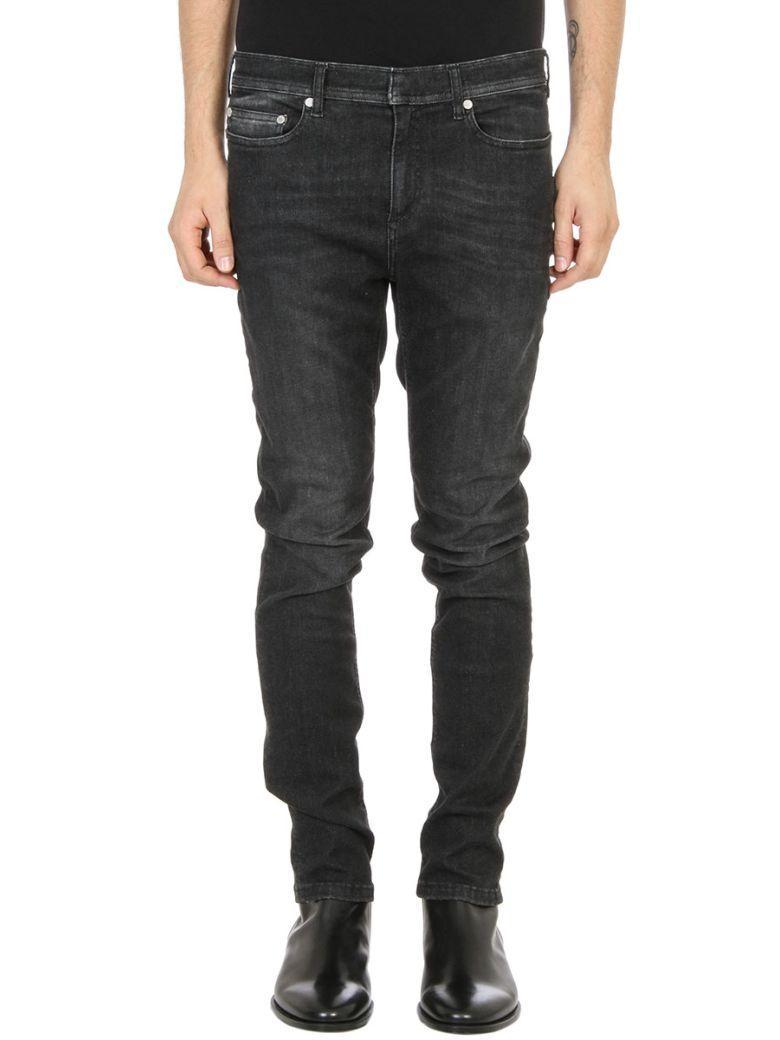 Neil Barrett Super Skinny Black Demin Jeans