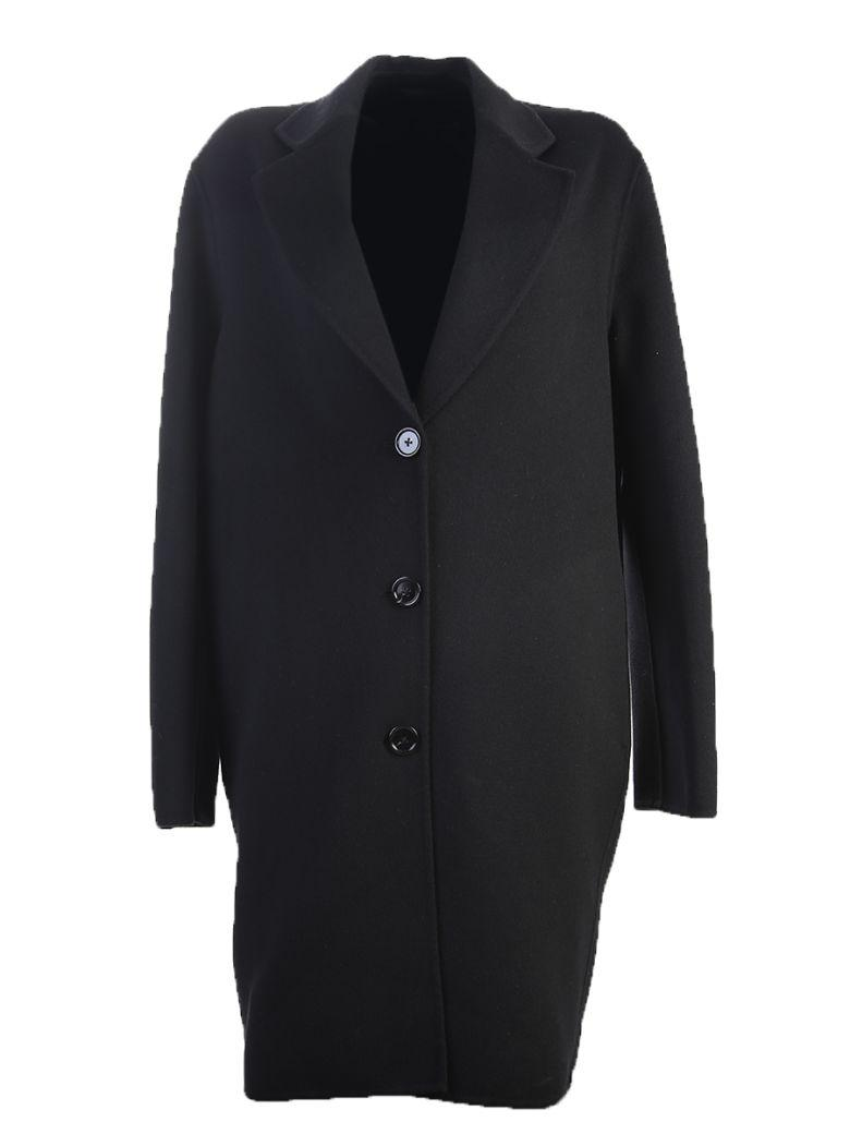 Acne Studios Wool And Cashmere Coat In Black