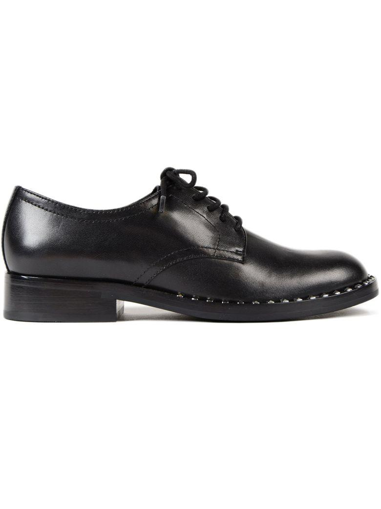 Ash Black Leather Wilco Lace-up Brogues