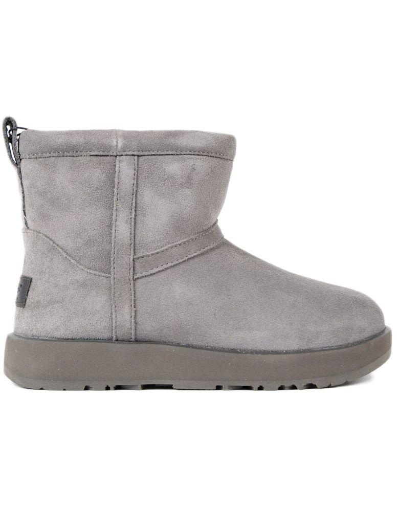 Ugg Classic Mini Ankle Boots In Grey