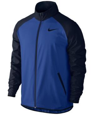 Nike Men's Dry Team Training Woven Jacket In Royal/black