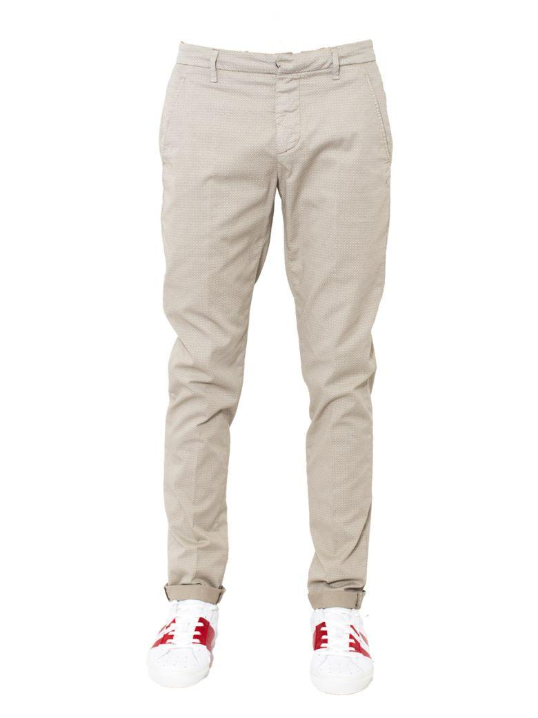 Dondup - Gaubert Trousers With Slit Pockets In Beige