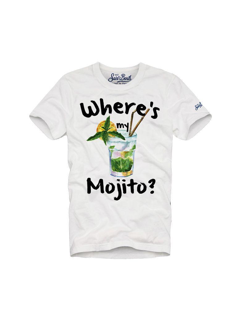 Mc2 Saint Barth Tshirt Man Mymo01 In White
