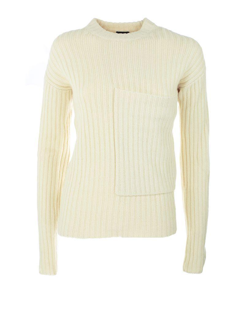 Joseph Ribbed Sweater In Yellow & Orange