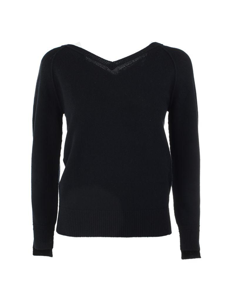 Helmut Lang V-neck Sweater In Black