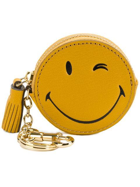 Anya Hindmarch Smiley Coin Purse - Yellow