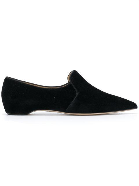 Paul Andrew Pointed Toe Loafers