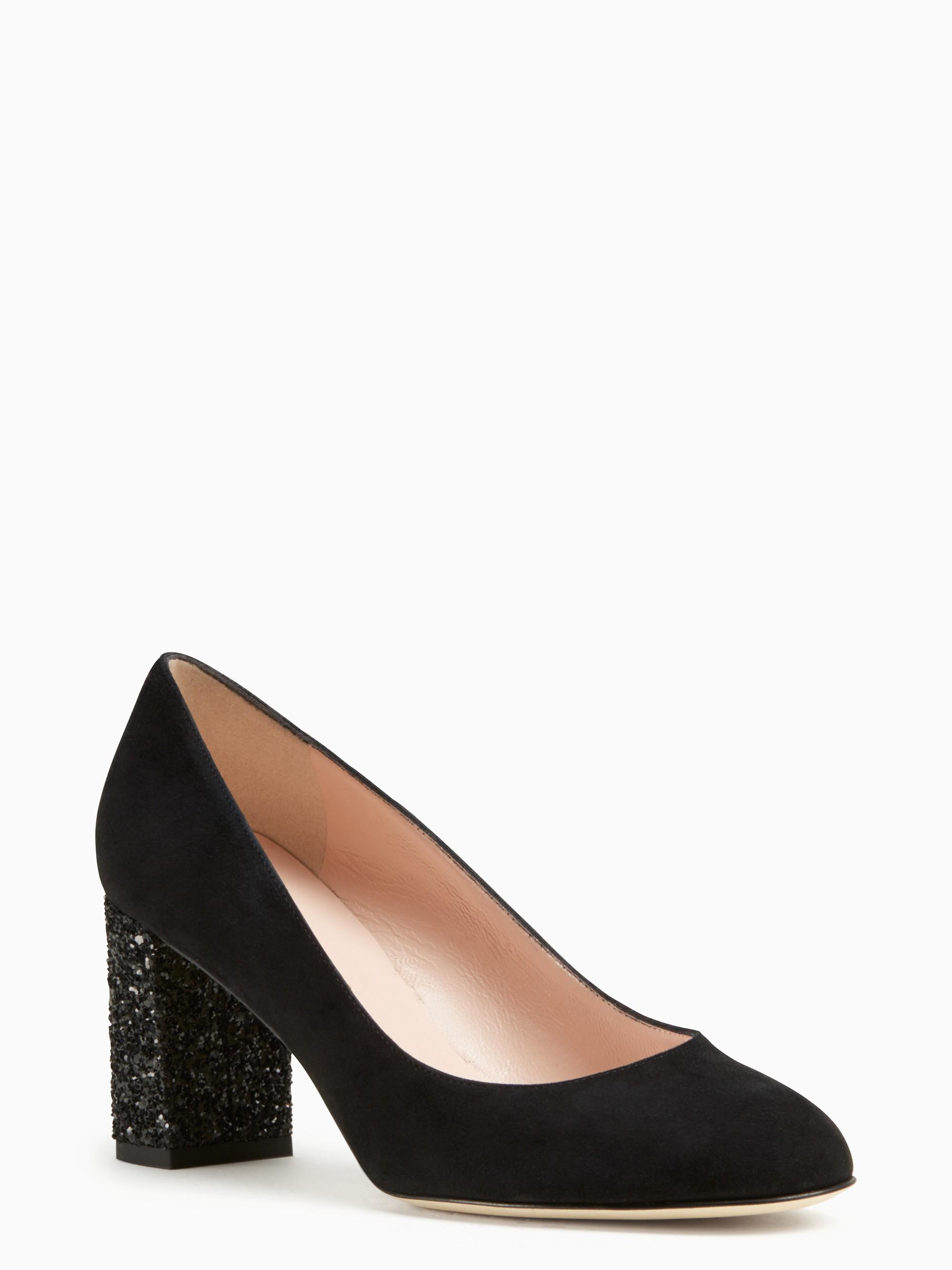 Kate Spade Anastasia Heels In Black