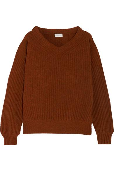 Lemaire Oversized Ribbed Wool Sweater