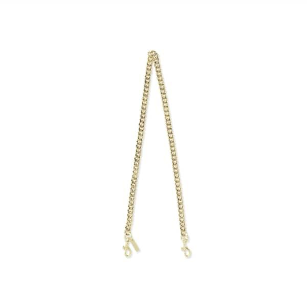 Thacker New York Lou Chain Strap Shiny Gold