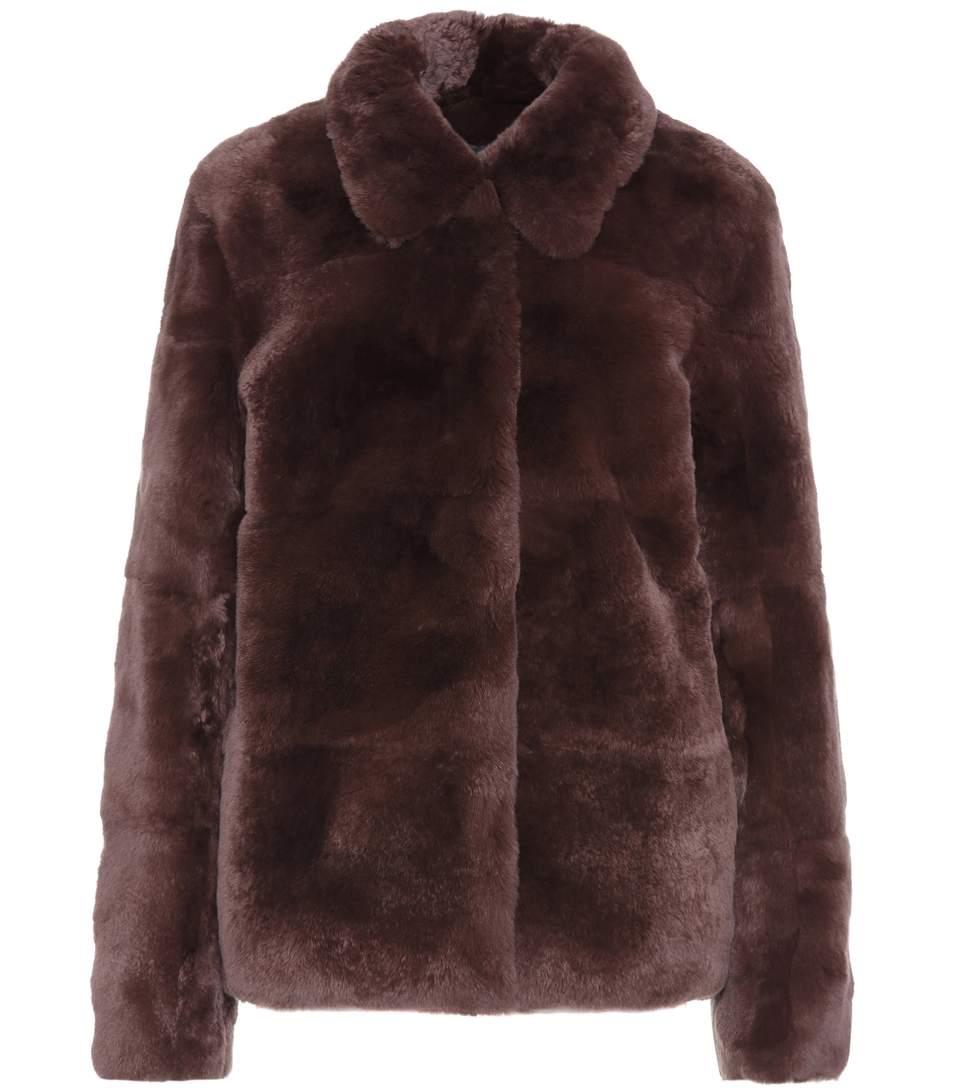 Yves Salomon Fur Coat