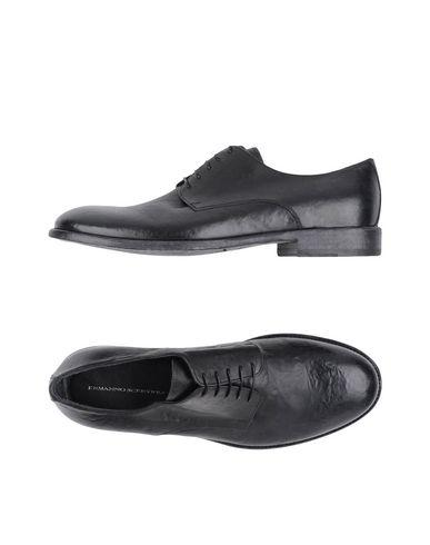 Ermanno Scervino Laced Shoes In Black