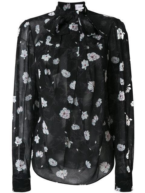 Carven Floral Print Shirt
