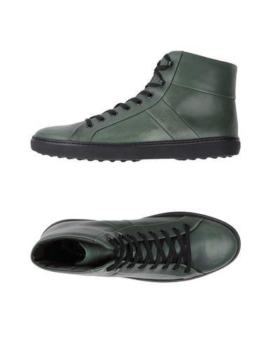 Tod's Sneakers In Military Green