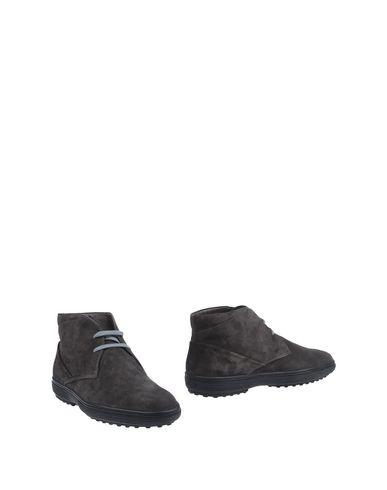 Tod's Boots In Steel Grey