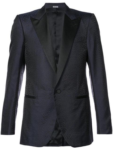 Lanvin Wide Lapel Tuxedo Jacket