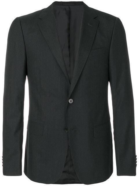 Z Zegna Tailored Suit Jacket - Black