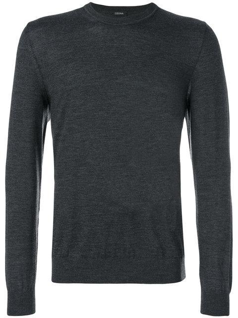 Z Zegna Long Sleeved T-shirt