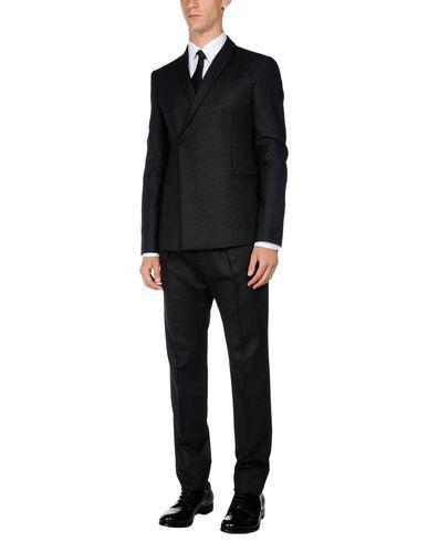 Emporio Armani Suits In Steel Grey